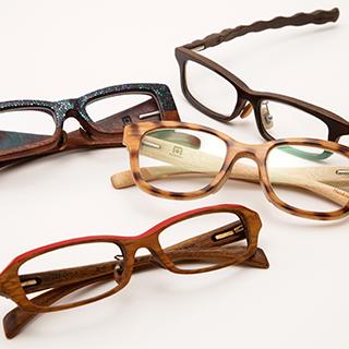 76ACAMAL木と漆のメガネ