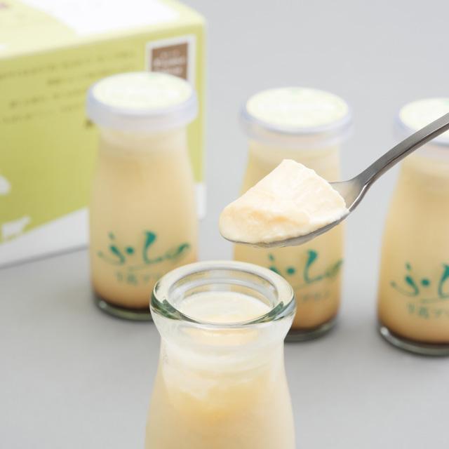 ふらの牛乳プリン1
