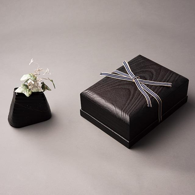 「PANDORA」焼石目塗桐箱1