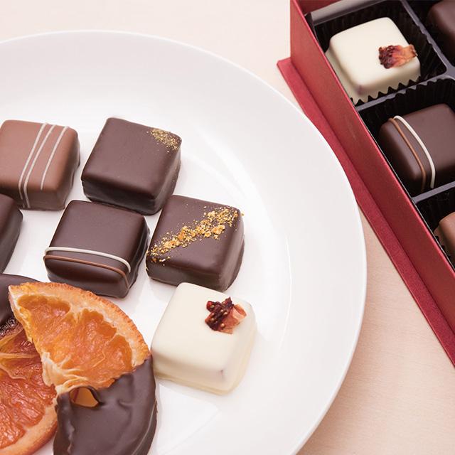 和歌山ショコラ「ボンボンショコラ」「オランジェ」1