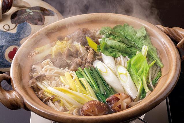 肉食文化の伝統を残す<br>「そずり鍋」